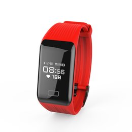 Wholesale fitness hours - New Fitness Tracker K1 Smart Bracelet Real-time Heart Rate Monitor down to sec Charging 2 hours Useing 1 weeks waterproof watch