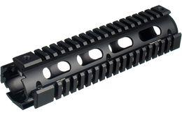 Wholesale Rail 15 - Model tactical 4 Quad rail Sydtem AR-15 M4 Drop-in Handguard MTU001 carbine 6.7 inch Picatinny Aluminum Black For Airsoft