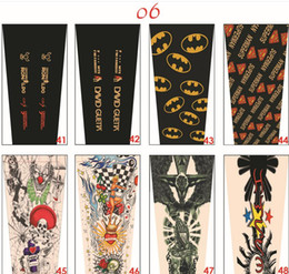 Wholesale Wholesale Baseball Armbands - tattoo sleeves compression arm sleeve Baseball Stitches Outdoor Sport Stretch guard Elbow Extended armband cycling fishing cool arm warmers