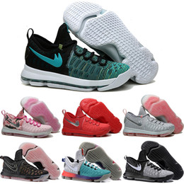 Wholesale Cheap Kd For Sales - Drop Shipping Wholesale Basketball Shoes Men KD 9 Durant IX Boots Cheap Sneakers High Quality New KD9 Sports Shoes For Sale Size 7-12