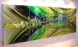 Metall wand kunst dekor hängen online-Moderne zeitgenössische abstrakte Malerei, Metallwandkunstskulptur, Wand hängenden deco Bürodekor. ursprüngliche abstrakte Wandkunst
