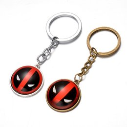 Wholesale Gold Pool - Deadpool Dead Pool Keyring Keychain for Keys Movie Series Key Chain For Keys Best Promotion Gifts
