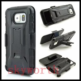 Wholesale Tpu Nexus Wholesale - Armor Holster Defender Full Body Hybrid Case for iphone 7 6s 6 Plus 5s Samsung S7 S6 Edge Nexus 5X With Belt Clip