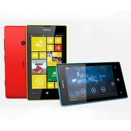 "Wholesale Unlock Windows Mobile - Original 520 Nokia Lumia 520 Windows Mobile Phone 8 Dual core 8GB ROM 5MP GPS Wifi 4.0"" IPS refrubished Unlocked Cell Phone"
