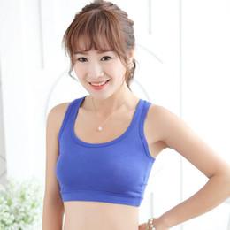 Wholesale Chest Vest Bra - Wholesale-Women GYM Sports Bra Vest Tops Strap Chest Wrap Sports Crop Tops Vest