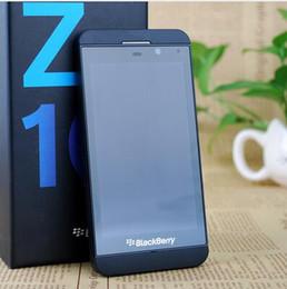 Камера сенсорный экран сотовые телефоны онлайн-Оригинальный разблокированный Blackberry Z10 двухъядерный GPS WiFi 8.0MP камера 4,2-дюймовый сенсорный экран 16 г хранения отремонтированный сотовый телефон
