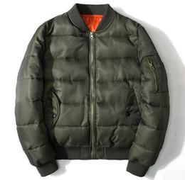 Wholesale I Pad Stands - Latest designer Mens Winter Jacket Army Men MA1 Bomber Jacket Casual Cotton Padded Parkas Coat I FEEL LIKE PABLO Plus Size 6XL