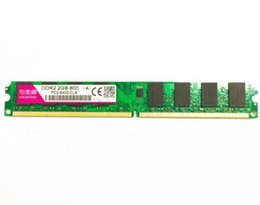 Wholesale 2gb Ddr2 Desktop Memory - Brand New DDR2 800 2G PC2-6400 Memory Chips Support Dual Channel