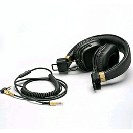 Wholesale Mp3 Generation - Marshall Major II 2nd Generation headphones With Mic Noise Cancelling Deep Bass Hi-Fi HiFi Headset Professional DJ Monitor Headphone