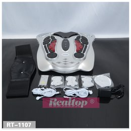 Wholesale Detoxification Machine - More Popular Foot Detox Machine,Effective Detoxification Instrument Infrared Foot Spa Circulation Blood Booster Foot Massager For Health