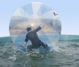 Wholesale Tizip Ball Water - 2M inflatable Water sport ball PVC inflatable zorb balls outdoor sport balls dancing ball water sports balls kids toy walking ball