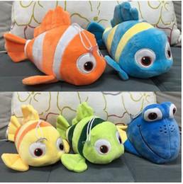 Wholesale Nemo Fish Plush - Dolly found 25 cm Finding Nemo plush toy stuffed animal toy nimoduoli Finding Nemo the clown fish stuffed doll plush doll