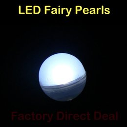 Wholesale Green Led Fishing - Led Fairy Pearls!!!12pcs bag Magical LED Berries 12Colors Battery Operated Mini Twinkle LED Party Light for Fish Tank Vases