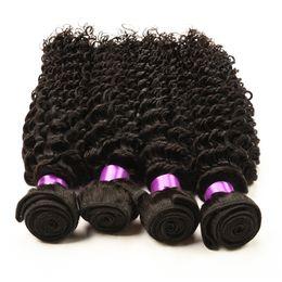 Wholesale Cheap Brazilian Deep Curl - brazilian deep curly virgin brazilian wavy hair bundles 4 pcs cheap ali moda brazilian deep curly human hair wave Deep Wave Curl