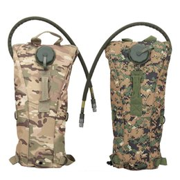 Wholesale Camouflage Acu - New Outdoors 3L Hydration System Water Drink Bag Pouch Backpack Bladder ACU CP Camouflage