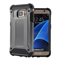 Wholesale Sgp Tough - NEW SGP Rugged Neo Hybrid Armor Heavy Duty Slim Tough Case For Samsung Galaxy note 7 s6 s7 edge plus PC + TPU Shockproof Cover