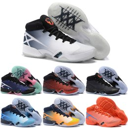 Wholesale Cheap Red Boots For Sale - Wholesale 2016 Cheap Basketball Shoes Men Retro 30 XXX Boots 8 Color Top Quality Sneakers For Sale J30S Sports Shoes Free Shipping Size