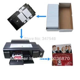 Wholesale Epson Tray - PVC card tray for Epson T50 T60 P50 R280 L800 8pcs lot 2013 Free Shipping