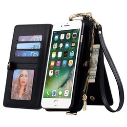 Ретро Урожай Кошелек для iPhone 6 7 для iPhone 7 Plus 6 Plus Кожаный чехол для карт памяти от