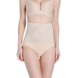 Wholesale Seamless Body Sculpting - Wholesale- High Waist Sexy Women Seamless Body Shapers Abdomen Corset Hip Fashion Female Sculpting Underpants Slimming Underwear LM75