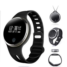 Wholesale Ip65 Phone - E07 Waterproof IP65 Bluetooth Smart Watch Bracelet Sport Healthy Pedometer Sleep Monitor smart wristwatch for android ios phones