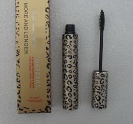 Wholesale leopard mascara - 24 PCS FREE SHIPPING MAKEUP 2016 Lowest Best-Selling good sale Newest Products Leopard MASCARA 10 ML good quality