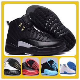 Wholesale Free Sporting Games - wholesale Basketball Shoes 12 Retro XII fluj Game French Blue Sports sneakers Retro 12s The Master Gym Red Taxi Playoffs Wings free shipping