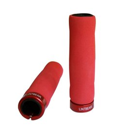 Wholesale Bicycle Parts Wholesalers - Wholesale-1 Pair Soft Anti-skid Lock-on EVA Sponge Cycling Handlebar Grips Fixed Gear Bicycle Handlebar Cover Bicycle Parts 6197