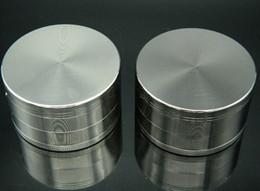 cnc teile Rabatt Neue Heiße 40 MM Herb Grinder Zink 4 Teile Herb Grinder Metallschichten GunBlack CNC Zähne Freies Verschiffen Hohe Qualität
