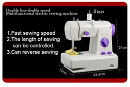 Wholesale Household Sewing - Multifunction Household Mini Desktop Fully Automatic Sewing Machine 2 Power Modes (battery + power) Wth Power Lights.