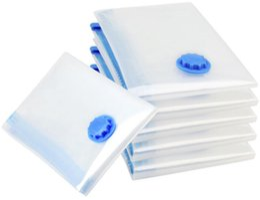 Wholesale Space Storage Bags Wholesale - Air Vacuum Pump for 5pcs lot 40*50cm  50*70cm   60*80cm 70*100cm Space Saver Saving Storage Bag Vacuum Seal Compressed Organizer