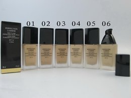 Wholesale Concealer Perfection - Makeup Perfection Lumiere Liquid Foundation Brands SPF 10 Face Base Make Up Concealer Moisturizer Cosmetics 30ML Beauty Maquiagem