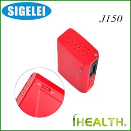 Wholesale Ions Power - Sigelei J150 TC Box Mod Dual Li-ion Polymer Battery 150w Max Power with Sigelei 213W Chip 100% Original