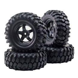 Wholesale Rc Crawler Wheels - 4pcs 12mm Hub Wheel Rim & Tires for 1 10 Off-Road RC Rock Crawler Buggy Truck