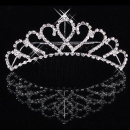 Wholesale Fashion Events - Cheapest Shining Rhinestone Crown Girls' Bride Tiaras Fashion Crowns Bridal Accessories For Wedding Event