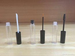 Wholesale Lip Plugs - 10ML Empty Plastic Mascara Tube lip gloss, and eye liner bottles With Plug & Cap Cosmetic Container DIY Refillable Bottles 100PCS