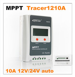 Wholesale Tracer Mppt Solar Controller - 2016 New! 10A MPPT Solar Charge Controller BP-C-Tracer-1210A, 12V 24V auto with LCD Display