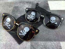 Wholesale Japan Eyewear - Mastermind Japan MMJ Cool Sunglasses Skull Sunglasses 2016 Fashion Eyewear Brand New with Box