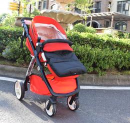 Wholesale Baby Pram Bags - 3 in 1 Baby stroller sleeping bag envelop baby sleeping sacks high quality infant stroller footmuff pram warmer booties
