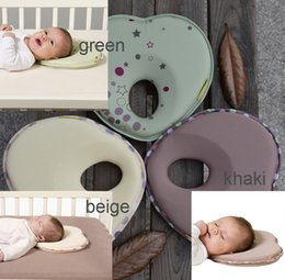 Wholesale Baby Head Shaping Pillow - Hot baby pillow infant shape toddler sleep positioner anti roll cushion flat head pillow protection of children almohadas bebe