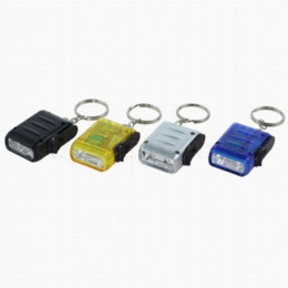 Wholesale Q8 Battery - Best Selling Multi Colors 2-LED Mini Dynamo Wind-up Key Chain Torch Flashlignt By Rechargeable Battery