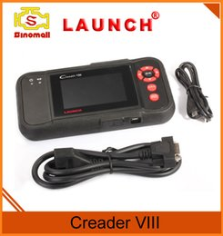 Wholesale Update Software - Launch Tech creader VIII 8 code reader OBD2 scan tool for Engine Transmission ABS and Airbag systems