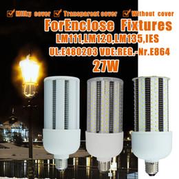 Wholesale E27 Screw Bulb - Corn LED Light,5000K Led Corn Bulb 27w(60w Replacement) Screw Base E26, High Bay Metal Halide HPS Retrofit Kits,360 Degree Lighting