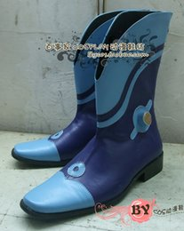 Wholesale dramatical murder cosplay costume - Wholesale-Dramatical Murder Ren DMMd color 2 Cosplay Boots shoes shoe boot #NC148 anime Halloween Christmas