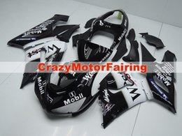Wholesale Kawasaki 636 West - 3 Free gifts New Fairing kits for 05 06 ZX 6R 636 2005 2006 Ninja ZX6R ZX636 ABS fairings Body kits Cool west