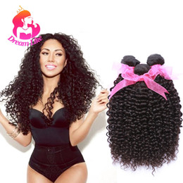Wholesale Sales Virgin Unprocessed Hair - Peruvian Kinky Curly Virgin Hair 3 Bundles Curly Weave Human Hair Extensions 100% Unprocessed Peruvian Virgin Hair Weave Hot Sale Deep Curly