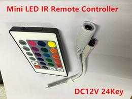 dmx 512 decoder rgb Sconti Telecomando LED CC 12V 24 Mini LED IR per 3528 5050 LED RGB Light Strip
