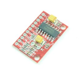 Wholesale Power Supply Board Usb - 10pcs Lot 3W*2 Mini Digital Power Audio Amplifier Board USB DC 5V Power Supply PAM8403 for Arduino FZ0457