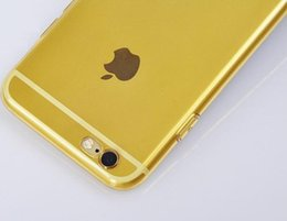 Wholesale Protection Materials - Cell phone case Good quality plastic material the production for iphone6 mobile phone protection shell good
