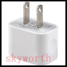 Wholesale Eu Plug White - 5V 2A USB Home Wall Charger EU US Plug White AC Power Adapter for iPhone 6 6S 5 5SE Samsung Galaxy HTC Universal